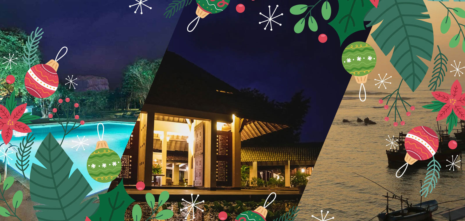 Colombo Fort Hotels - Christmas Banner