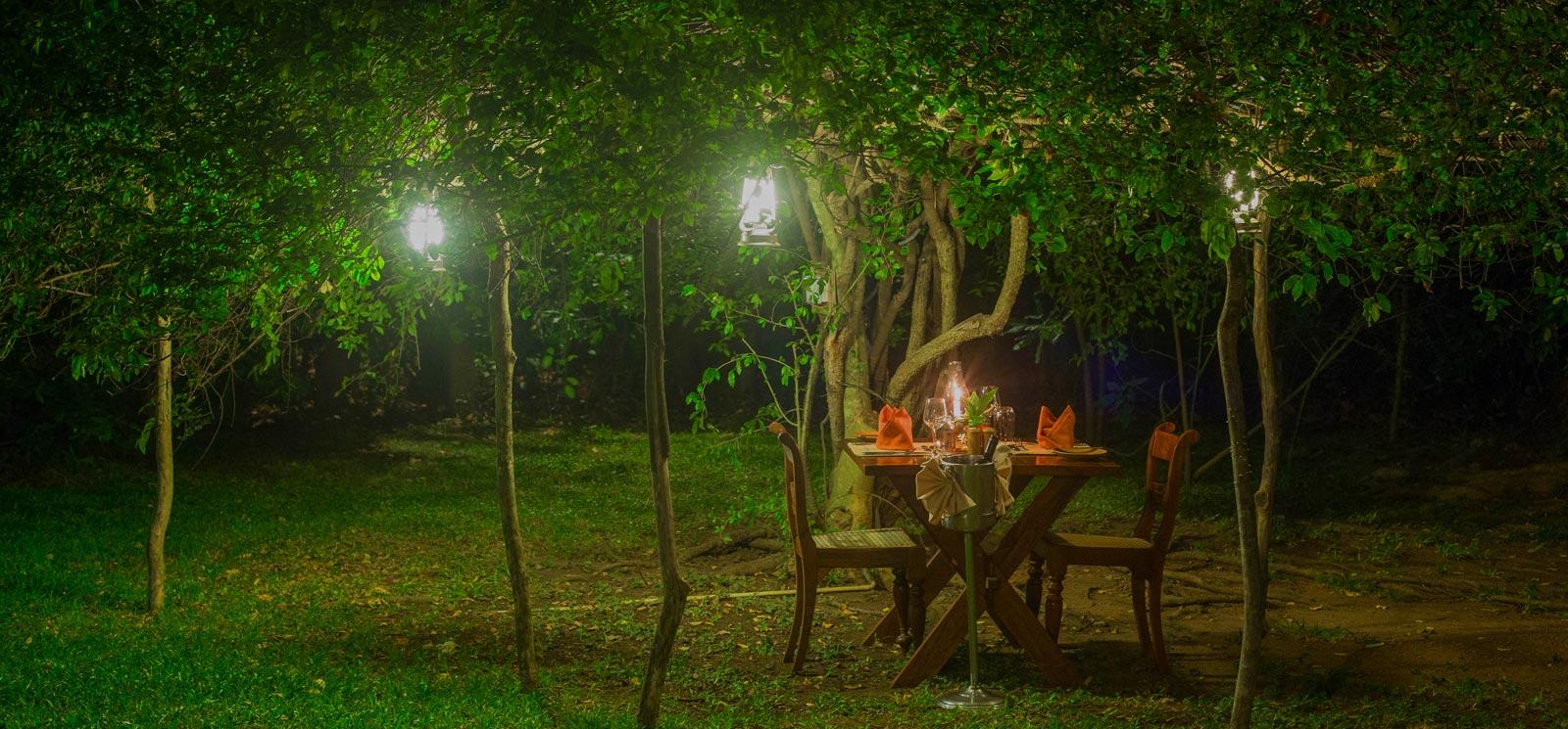 Best of Alfresco dining at Sigiriya Village Hotel