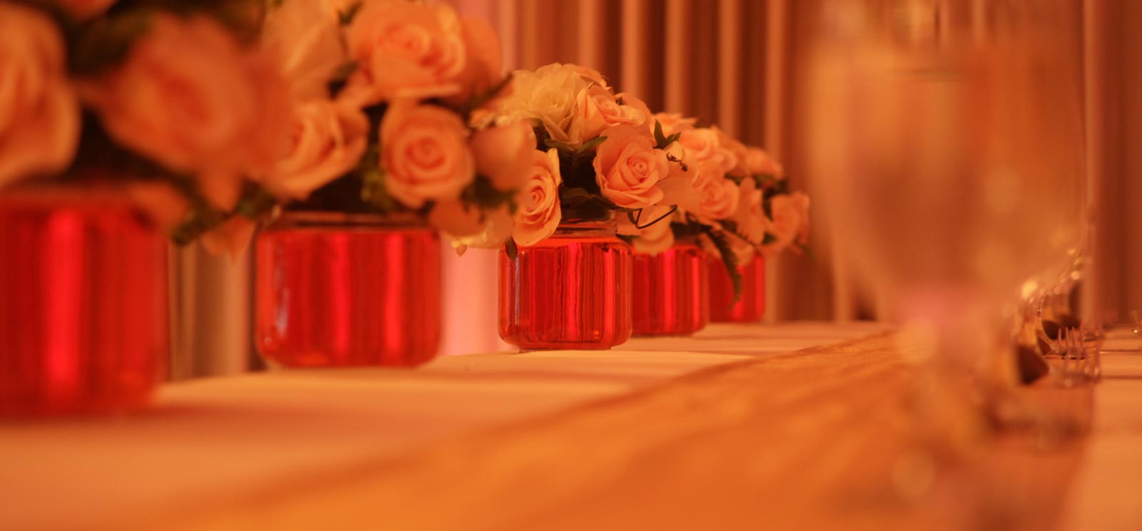 Spacious and flexible spaces for indoor weddings at Sigiriya Village Hotel