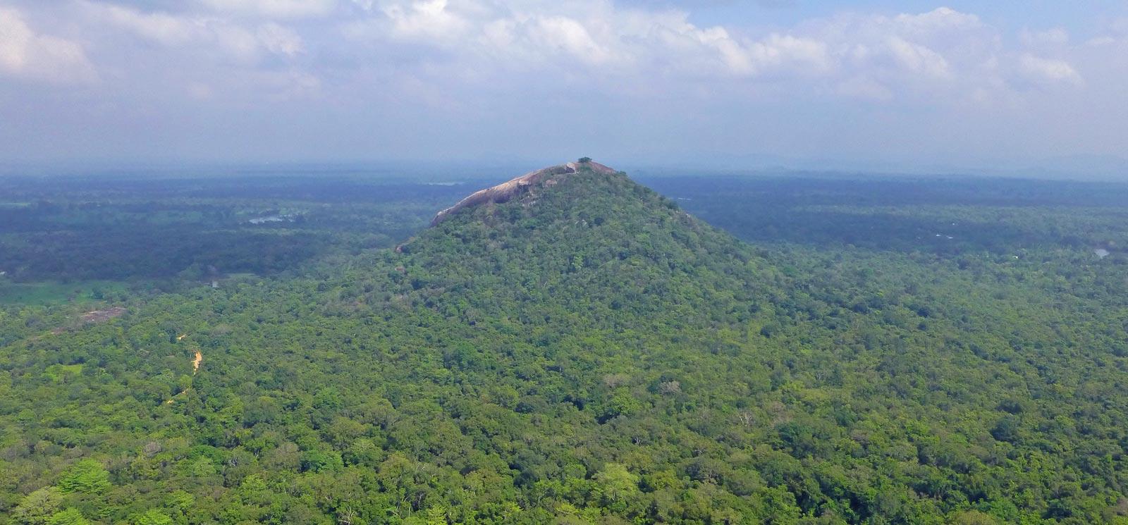 Pidurangal Rock Monastery in Sri Lanka