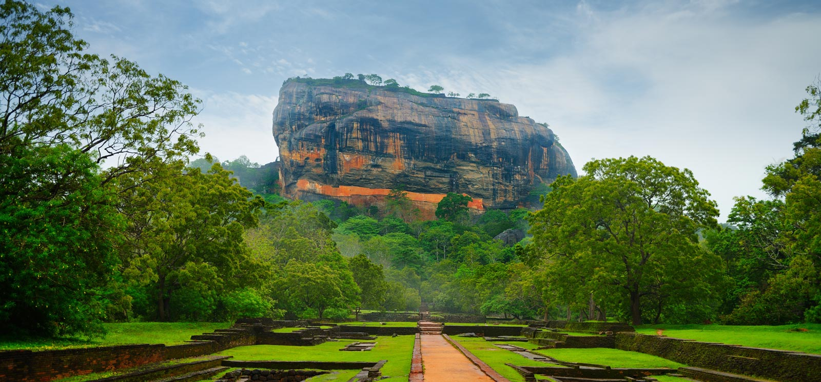 Sigiriya, the ancient rock fortress and water garden