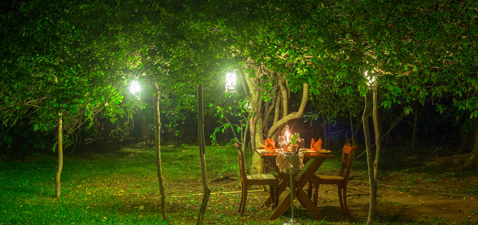 Al Fresco Dining at Sigiriya Village Hotel