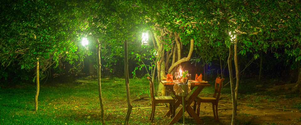 Special dining at Sigiriya village