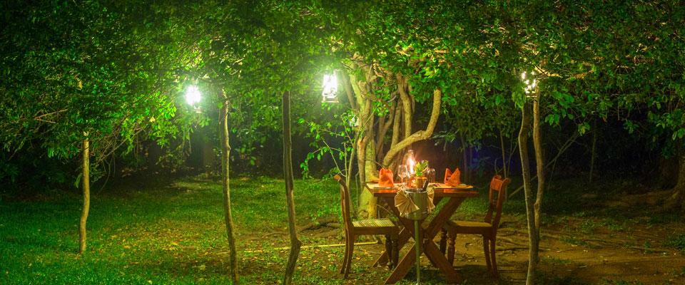 Special dining at Sigiriya village