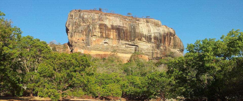 Sigiriya rock fortress, a UNESCO heritage