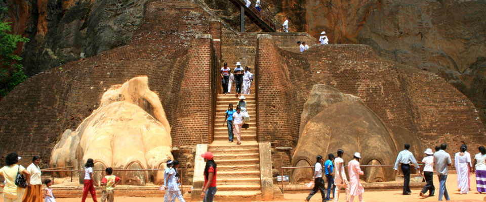 Sigiriya, one of the eight ancient wonders in the world