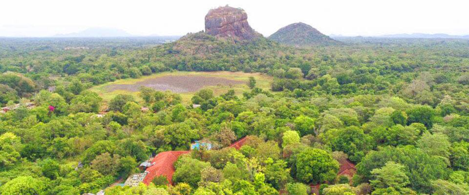 A heritage hotel in the shadow of Sigiriya Rock Fortress