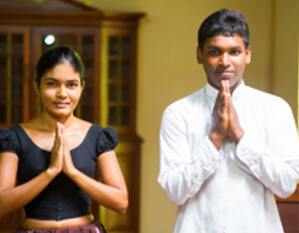 The well qualitied therapists at the Ayurveda Spa of the Sigiriya Village Hotel