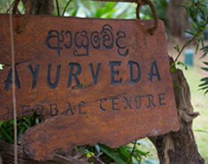 The Ayurveda spa of the Sigiriya Village Hotel