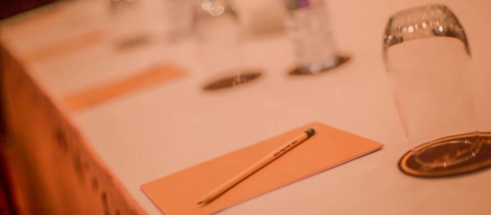 Free stationary provided for events and meetings
