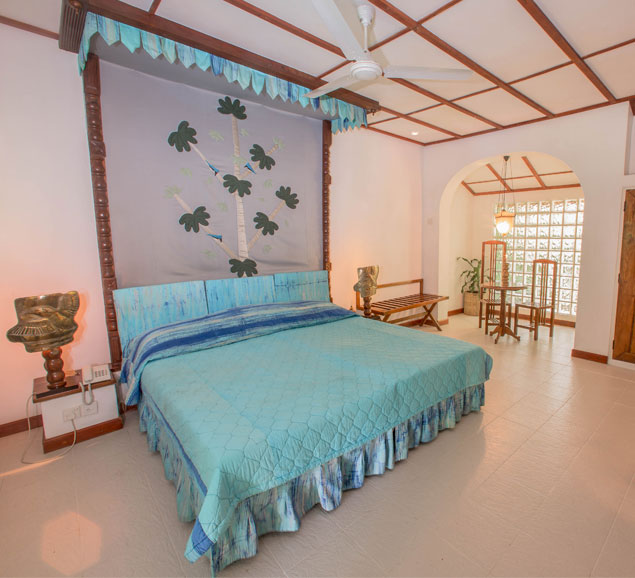 King fisher Cluster of the superior rooms at Sigiriya Village Hotel