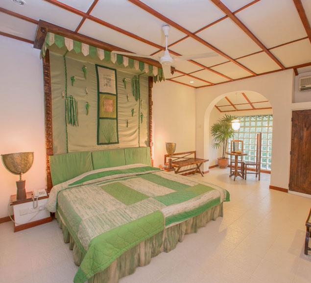 Paddy cluster of the Superior rooms at Sigiriya Village Hotel