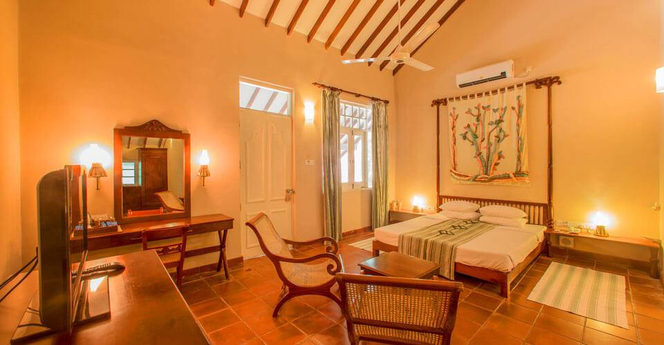 Deluxe rooms at Sigiriya Village Hotel