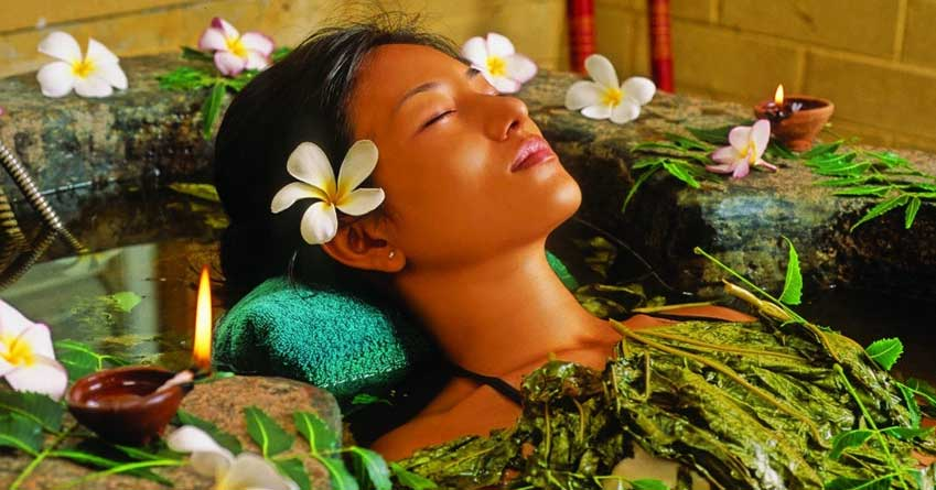Ayurveda herbal healing at The Palms Hotel, Sri Lanka
