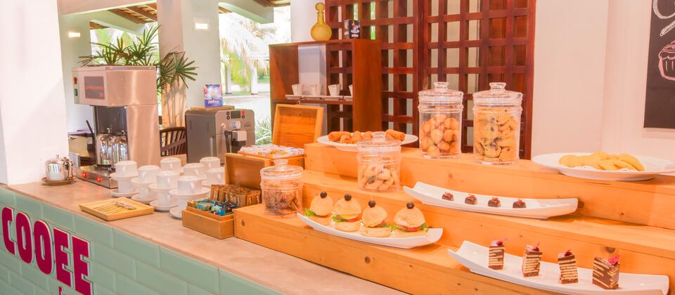 A range of snacks and short eats served at The Coffee Shop