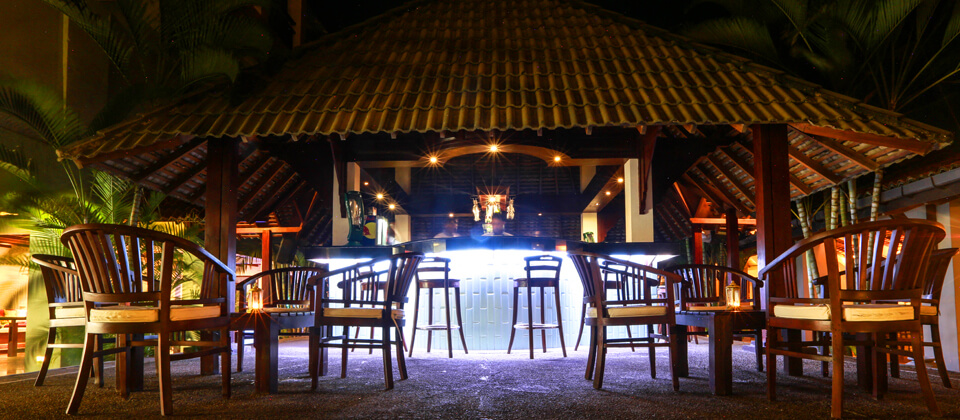 Unwind at the Pavilion Bar at Beruwala, Sri Lanka