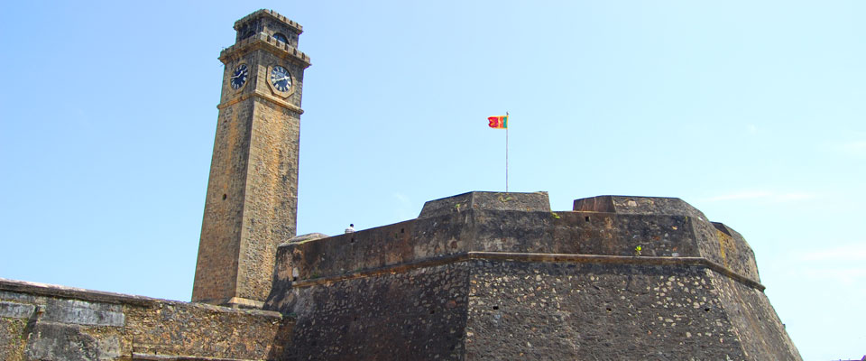 The Galle Dutch Fort of Sri Lanka