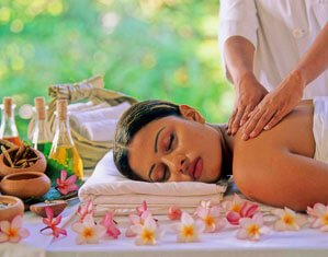 The Ayurveda Spa at The Palms Hotel in Beruwala