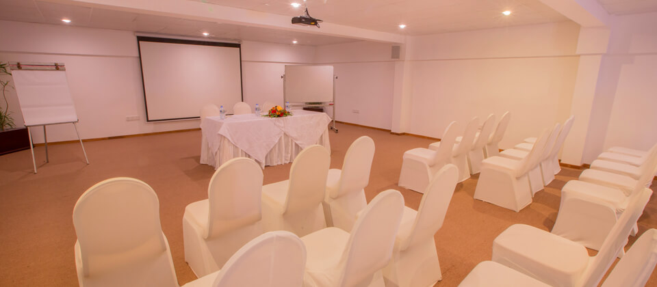 The Mini Conference Hall at The Palms Hotel, Beruwala