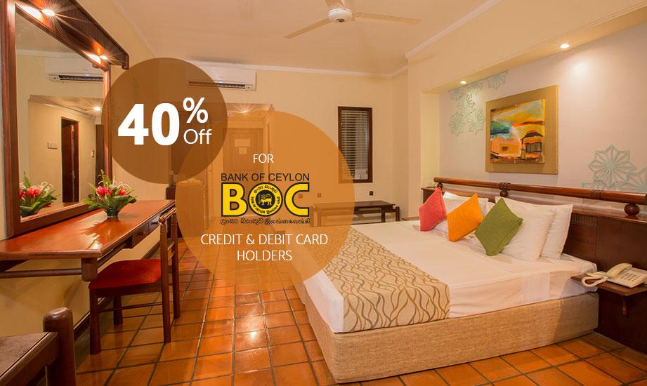 BOC Credit & Debit Card Offer