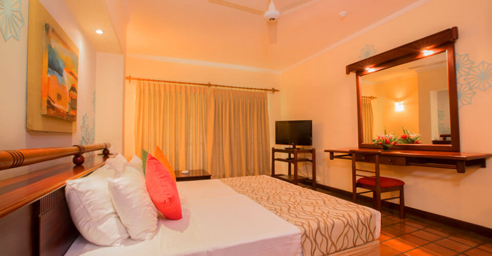 Deluxe Rooms at The Palms Hotel in Beruwala, Sri Lanka