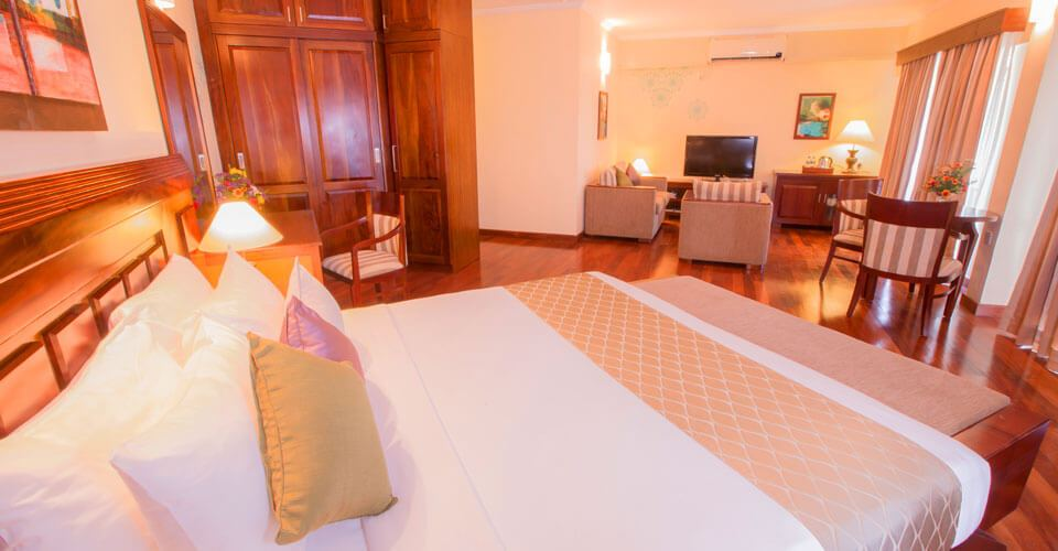 Seaview Suite Rooms at The Palms Hotel in Beruwala, Sri Lanka